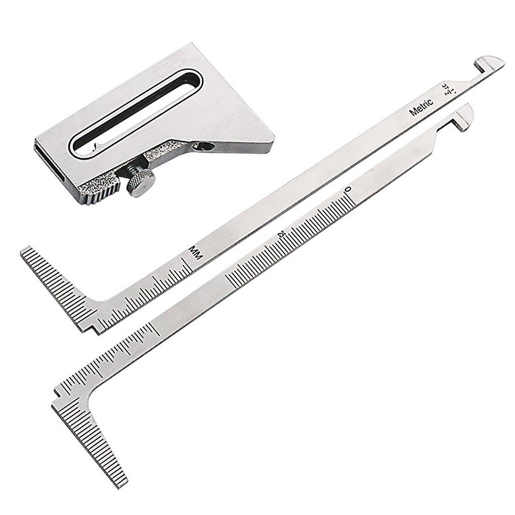 sharplace calibro di saldatura attrezzi manuali di misura Precisione Acciaio Inox Indicatore