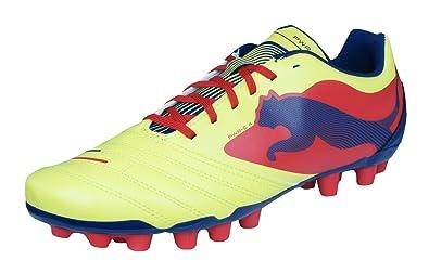 PUMA Powercat 4 AG Mens Soccer Boots Cleats-Yellow-7.5 a0397f82f