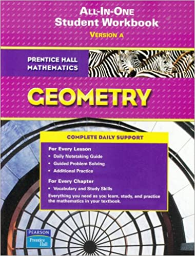 Amazon all in one student workbook version a prentice hall all in one student workbook version a prentice hall mathematics geometry workbook edition fandeluxe Gallery