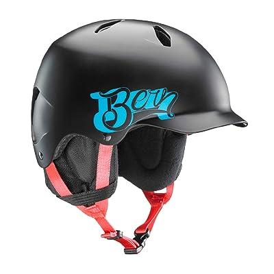 BERN Junior Bandito Ski Snow Helmet Satin Black Baseball SB03ESBKB Small Medium : Sports & Outdoors