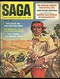 SAGA MAGAZINE MAY 1958-APACHE KID-KENNEDY-STAN MUSIAL P VG