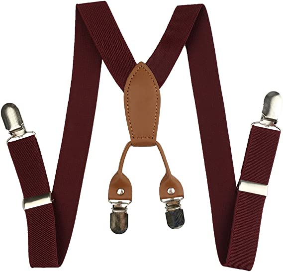 Kids Suspender Cinny Elastic Solid 1 Suspender