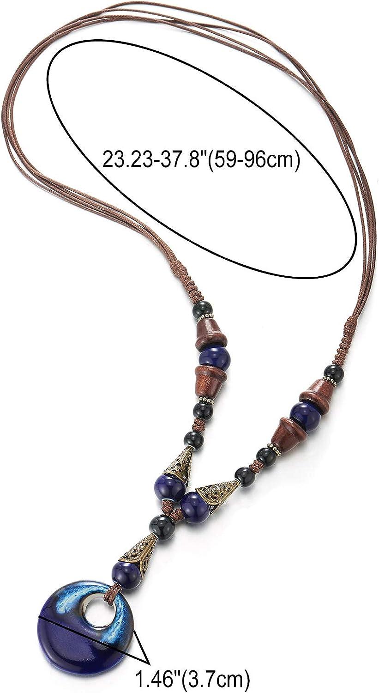 AAA Quality 100/% Natural Outstanding Prehnite Oval Shape Cabochon Gemstone Handmade Thread Jewelry Macrame Pendant 2.1 N-2849