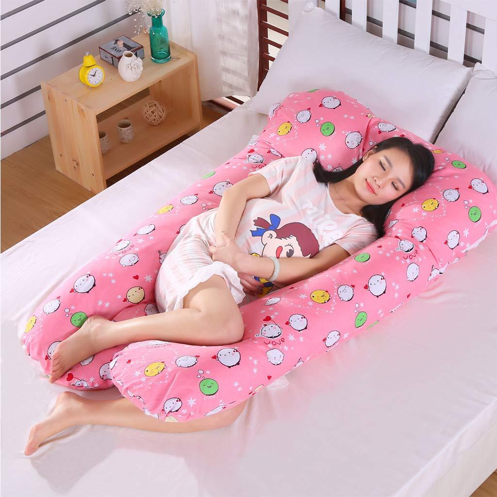 Amazon.com: Sanmomo - Almohada para embarazo, diseño de U ...