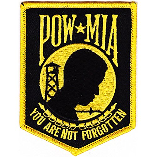 POW MIA You Are Not Forgotten Patch - A Version