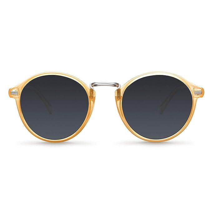 ad4be4baf5 Meller Nyasa Amber Carbon Gafas de Sol UV400 Unisex: Amazon.es: Ropa y  accesorios