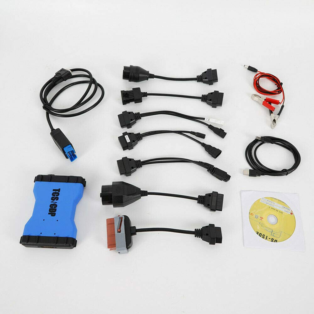 Xian Cavi per Auto Bluetooth TCS CDP PRO Plus 4 autocom OBD2 Strumenti diagnostici 8pc