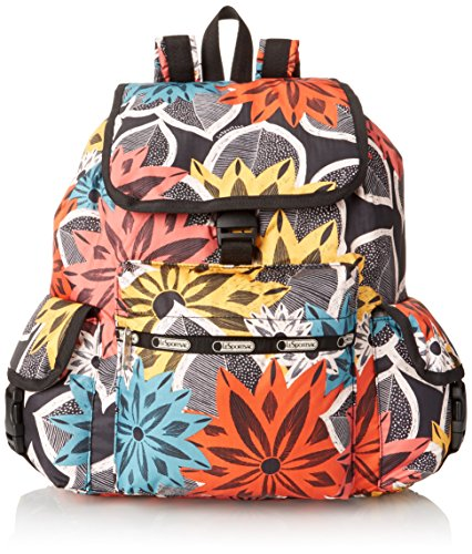 LeSportsac Voyager Backpack, Caraway Floral, One Size by LeSportsac