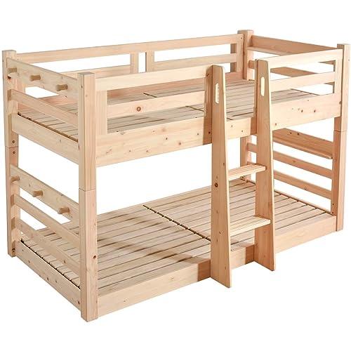 タンスのゲン 現役ママが考えた日本製ひのきの二段ベッド