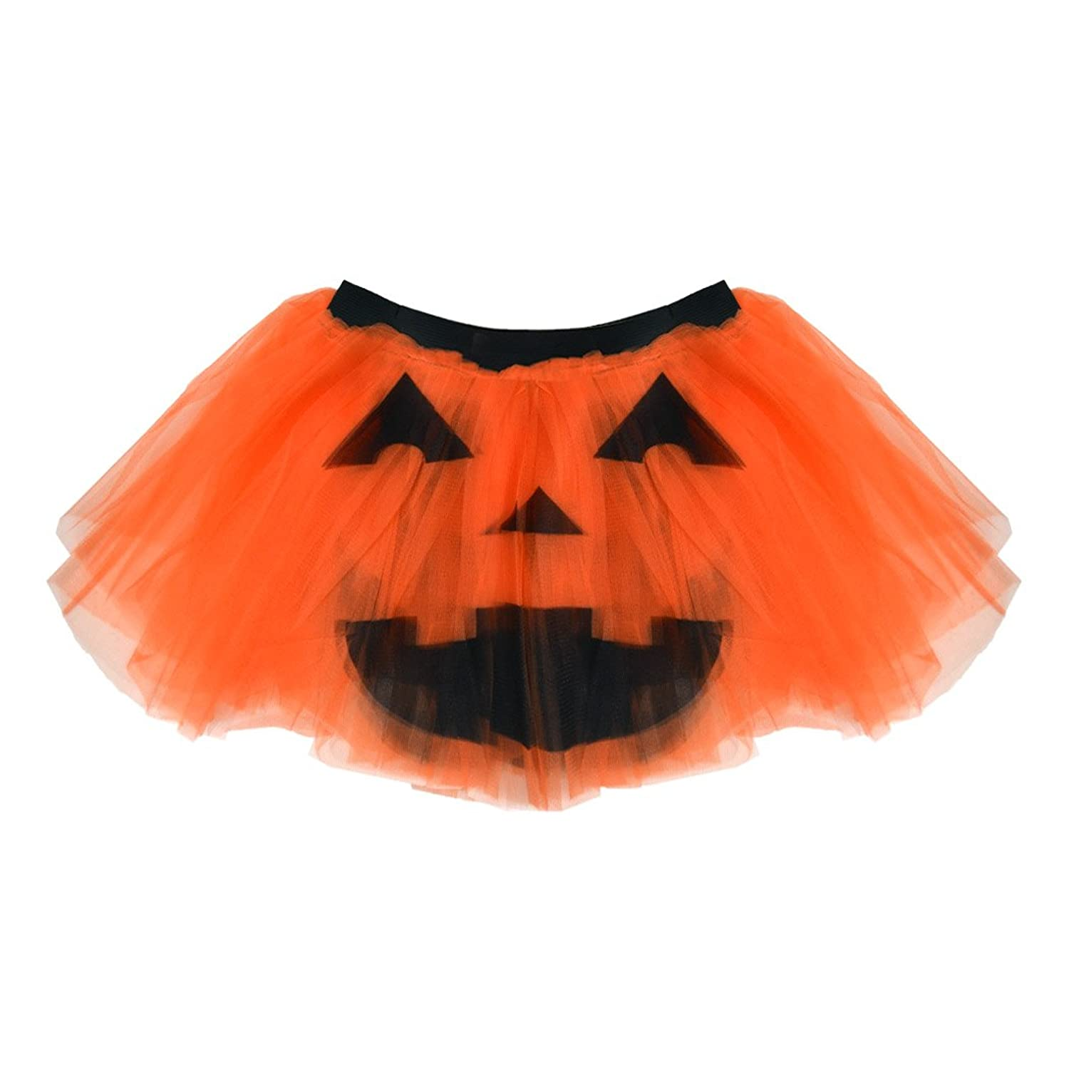 b5995a0a3 Amazon.com: Gone For a Run Runners Printed Tutu Lightweight | One Size Fits  Most | Colorful Running Skirts | Jack O Lantern: Clothing