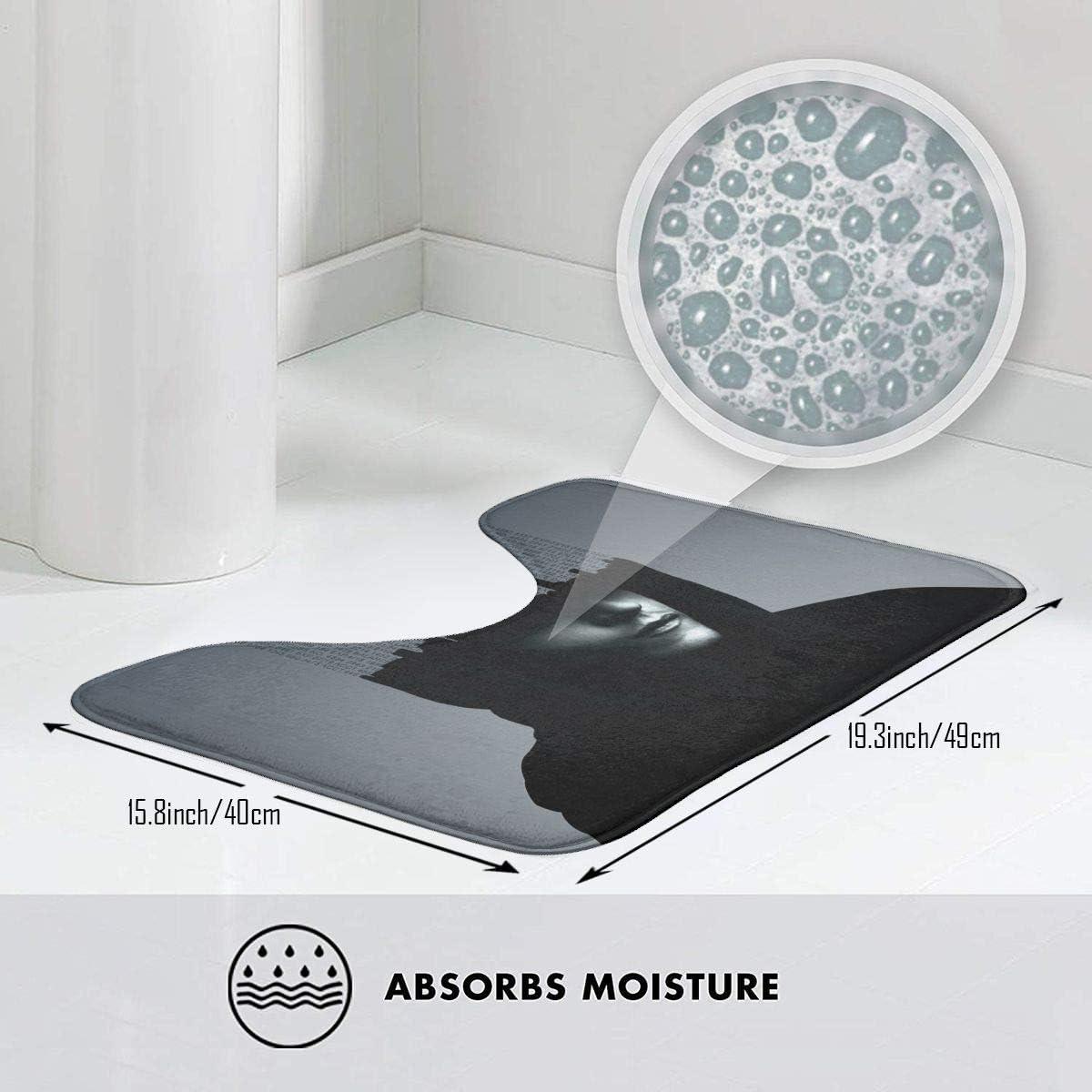Kaufen Sie online Badematten zu den besten Preisen saugf/ähiges Wasser Perfekt f/ür Badezimmer Hoklcvd Mr Robot Rutschfeste Kontur Badematte f/ür Toilette