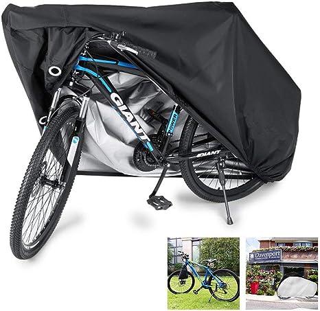 190t Funda de Protección Bicicleta Portátil Impermeable, Anti Polvo y UV para Montaña Carretera, Funda de Protección Bicicleta Exterior Grandes de Montaña para 1 Bicicleta(múltiples 4 Tamaños),S: Amazon.es: Deportes y aire libre