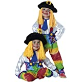 Colorful Clown Toddler & Child Costume