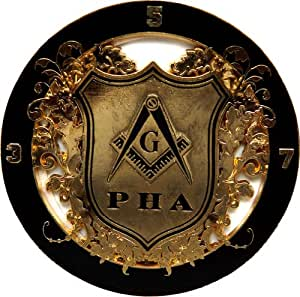 Amazon Com Masonic Pha Prince Hall Freemason Auto Emblem