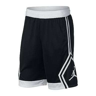 fcb0d963284 Nike Mens Rise Diamond Short 887438-013_2XL - Black/White/Black/White
