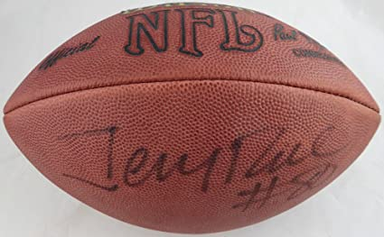 c403d892b Jerry Rice Autographed Wilson NFL Leather Football San Francisco 49ers  Beckett BAS  C71393