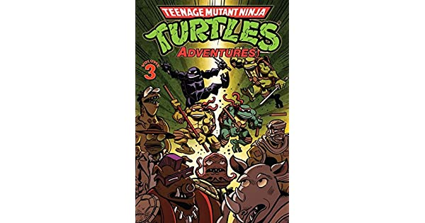 Amazon.com: Teenage Mutant Ninja Turtles Adventures Vol. 3 ...