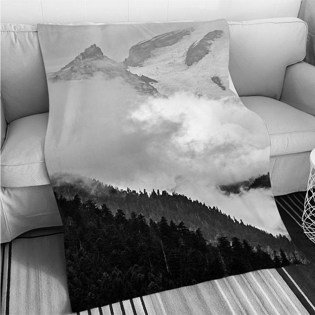 color9 31 x 47in BEICICI Comforter Multicolor Bed or Couch Mount Magazine State Park Fun Design All-Season Blanket Bed or Couch
