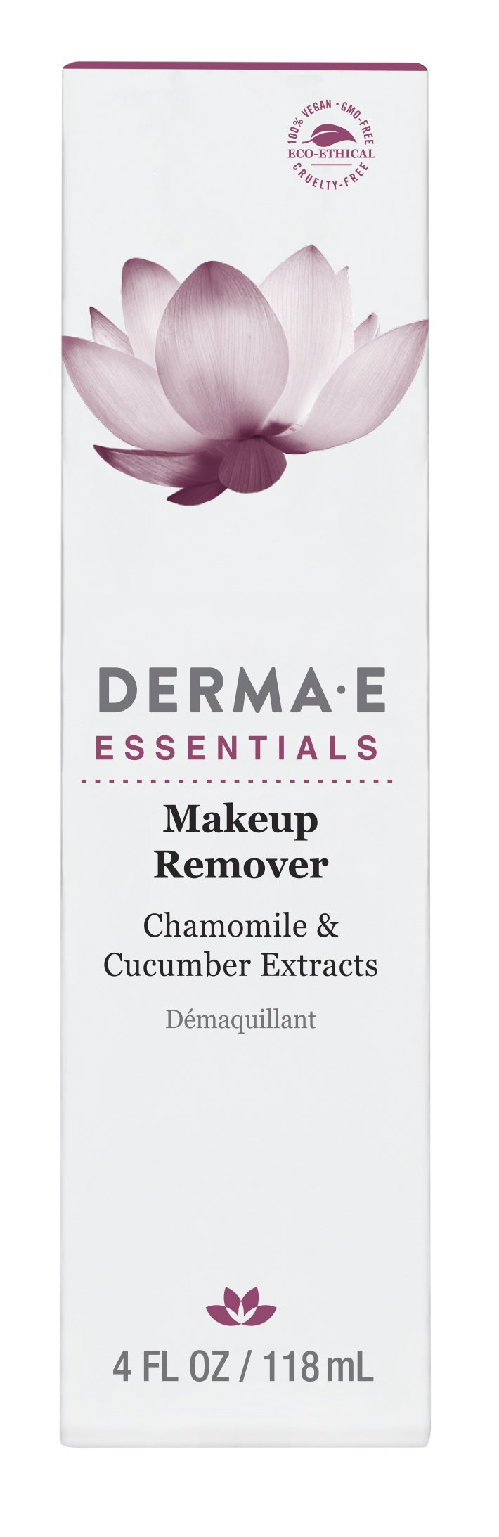 DERMA E Makeup Remover with Chamomile and Cucumber Extracts 4 fl oz by DERMA-E (Image #3)