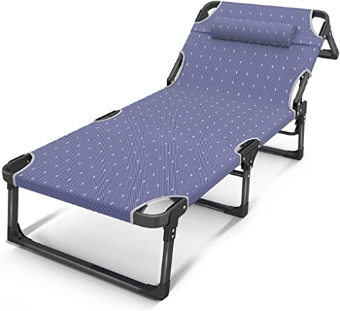 2x padded Beach Mat adjustable Lounger Folding Bed Picnic Garden Beach Camping
