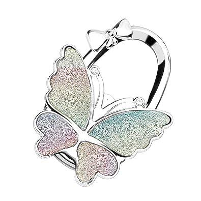 Amazon.com: Bobauna Colorido Shimmery Butterfly Plegable ...