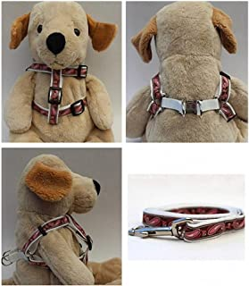 """product image for Diva-Dog 'Boho Pink' Custom 5/8"""" Wide Dog Step-in Harness with Plain or Engraved Buckle, Matching Leash Available - Teacup, XS/S"""