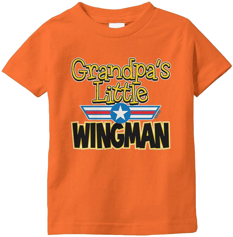 Amdesco Grandpas Little Wingman Infant T-Shirt