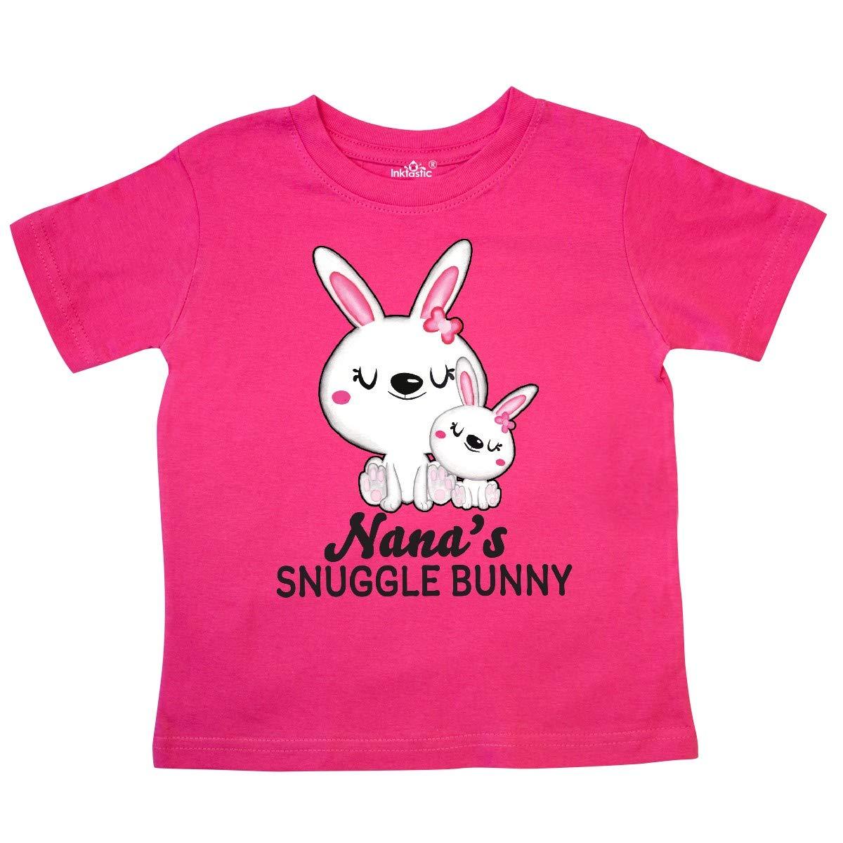 inktastic Nanas Snuggle Bunny Easter Toddler T-Shirt