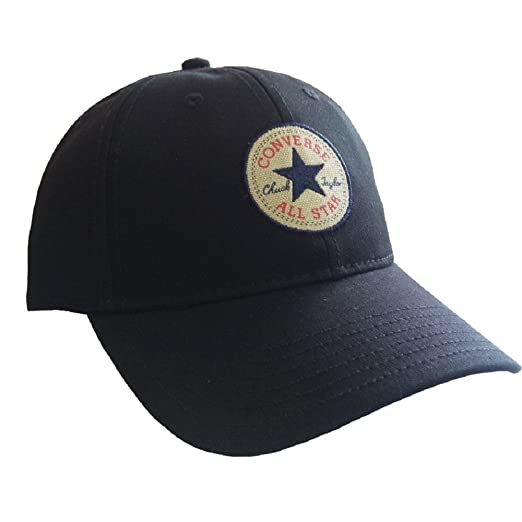 b8c44fda24b Amazon.com  Converse Classic Twill Cap - Black  Sports   Outdoors