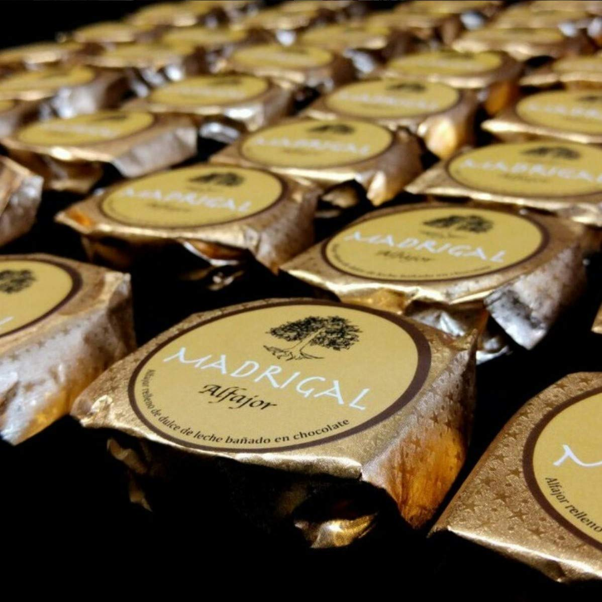 LaCasadeTé - Alfajores artesanales Madrigal - Chocolate, 12 Unidades: Amazon.es: Alimentación y bebidas