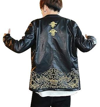 d059ef6fc Fensajomon Men Chinese Style Autumn Winter Slim Fit Plus Size ...