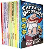 Captain Underpants: 10 Book Set