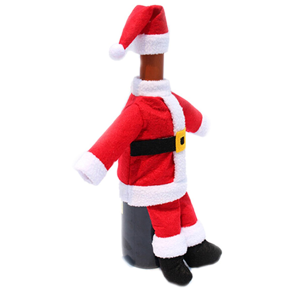 Lalang Santa Christmas Wine Bottle Cover Gift Wrap Christmas Party Decorations Home Wine Bottle Decor 88_Store