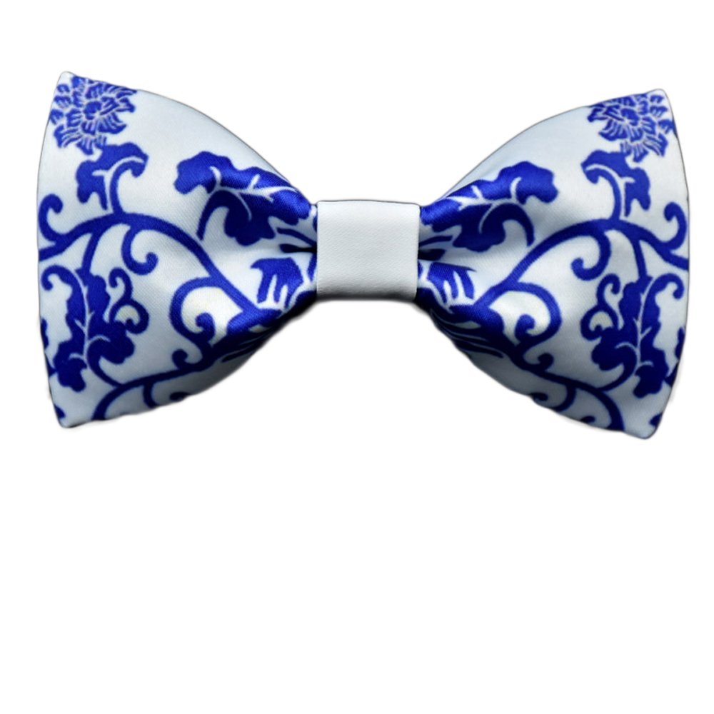 Cloud Rack Bow Tie Textile Printing Cotton Tie