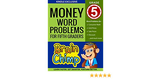 Math Worksheets free printable math worksheets 5th grade : Amazon.com: Money Word Problems For Fifth Graders: Ages 10 – 11 ...