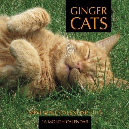 Ginger Cats Mini Wall Calendar 2015: 16 Month Calendar ebook