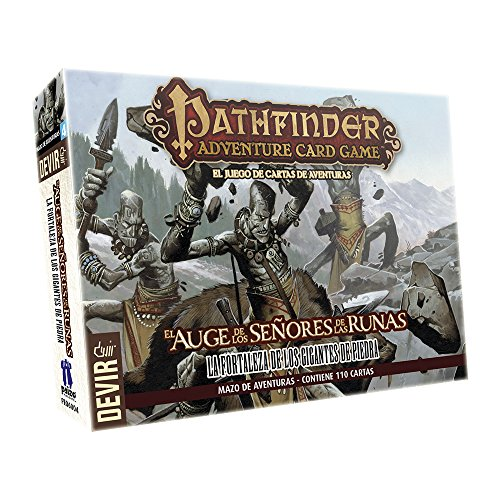 Devir - Pathfinder Mallet 4: The Strength of The Giants of Stone, Table Game (222630) (Giants Pathfinder Stone)