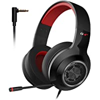 EDIFIER G4 SE Gaming Headset for PS4, PC, Xbox One Controller,Noise Cancelling Over Ear Headphones with Mic,Stereo Bass…