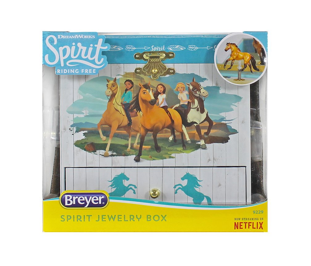 Breyer Spirit Riding Free - Spirit and Lucky Musical Horse Jewelry Box by Breyer (Image #5)