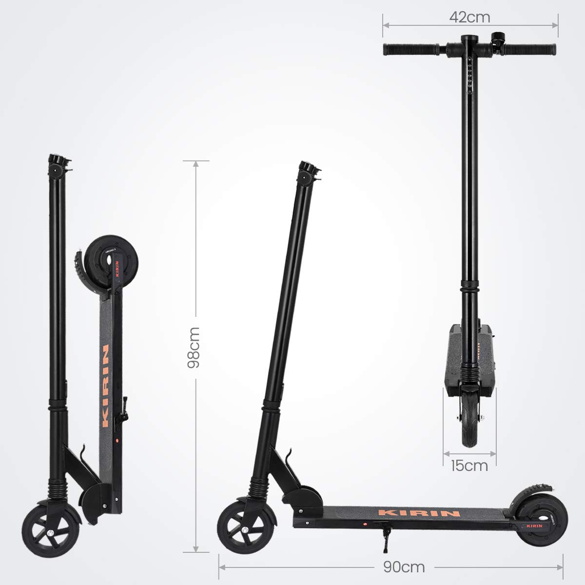 Scooter /électrique Pliant Ultra avec lumi/èr LED urbetter Trottinette Electrique Vitesse Maximale de 20 km//h L/éger et R/églable pour Ados et Mixte Adulte