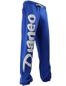 Djaneo Pantalon Jogging coton Rio Enfant pour le sport Bleu Roy et Blanc  Taille 14 ans c35e9c6f8be