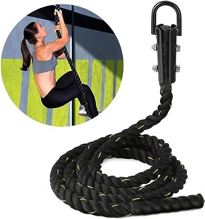 Pellor Sport Fitness - Cuerda de escalada para entrenamiento ...