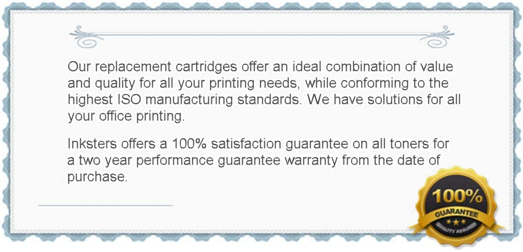 HP 53X - 2 Pack Inksters Remanufactured Toner Cartridge Replacement for HP Q7553X MICR 7K Pages Used with HP Laserjet M2727 MFP M2727NF MFP P2010 P2014 P2015 P2015D 02-81213-001 High Yield