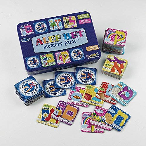 Hebrew Alphabet Memory Game in Collectible Tin [並行輸入品] B07SFV384L
