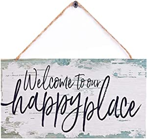 AJHERO Welcome to Our Happy Place-Nautical Blue 6