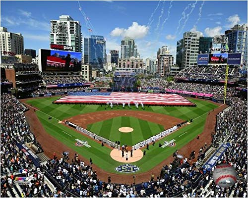 (Petco Park San Diego Padres 2019 Opening Day Photo (Size: 11