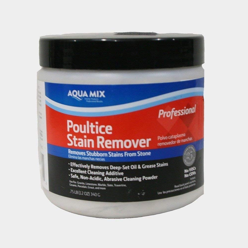 Aqua Mix Poultice Easily Remove Stubborn Stains - .75 lb