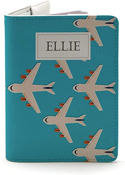 Wanderlust Collection Travel Gifts Personalized Leather Passport Holder