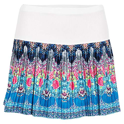 Lucky In Love Women`s Long Pleated Tennis Skirt (X-Small Ambrosia)