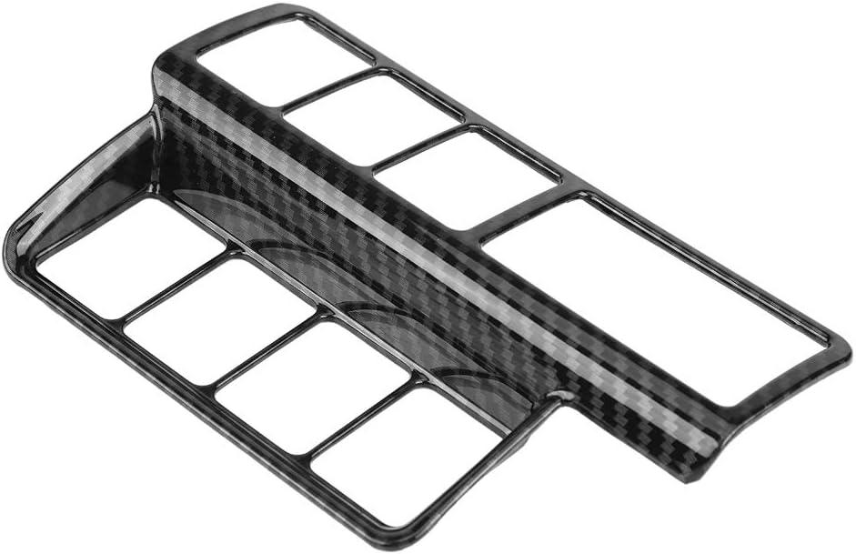 Matt Silver Hlyjoon Car Headlight Adjustment Switch Cover Trim 2 Set Headlight Adjustment Decoration Adjustment Switch Trim Interior for Mitsubishi Eclipse Cross 2017 2018